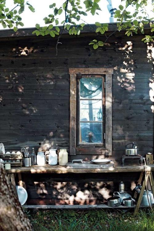 Drömmen om ett utomhuskök.